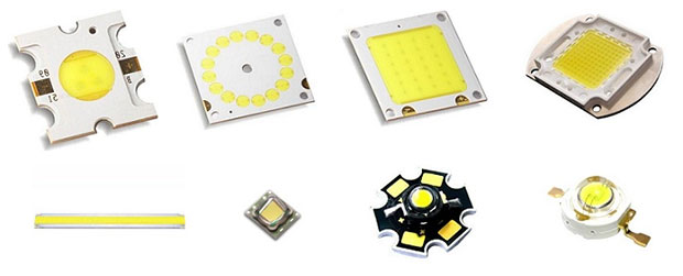 The powerful high-brightness light-emitting diodes LED