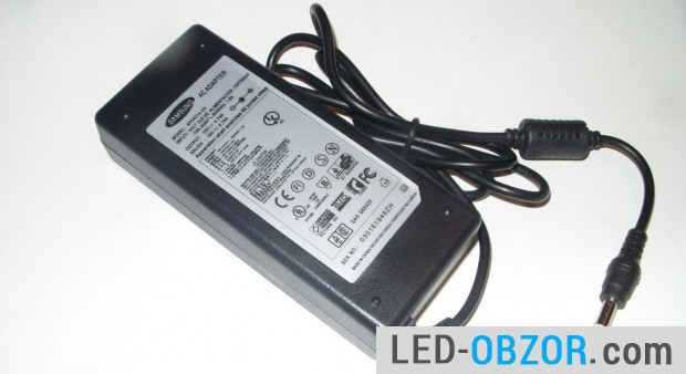 power supply from the laptop 19В, 90W