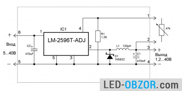Option to control the output from 3 to 37V
