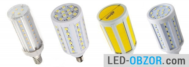 Diode corn on 900 Lumen, reliable models