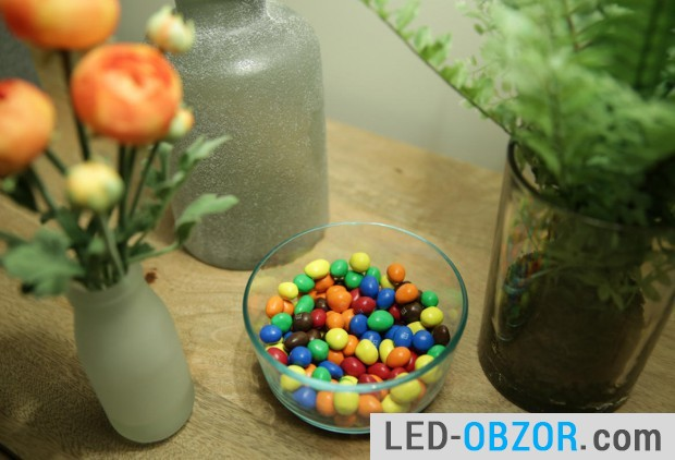 Lamp with Color Rendering Index 93